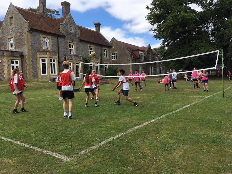 Senior Interhouse rounders and volleyball