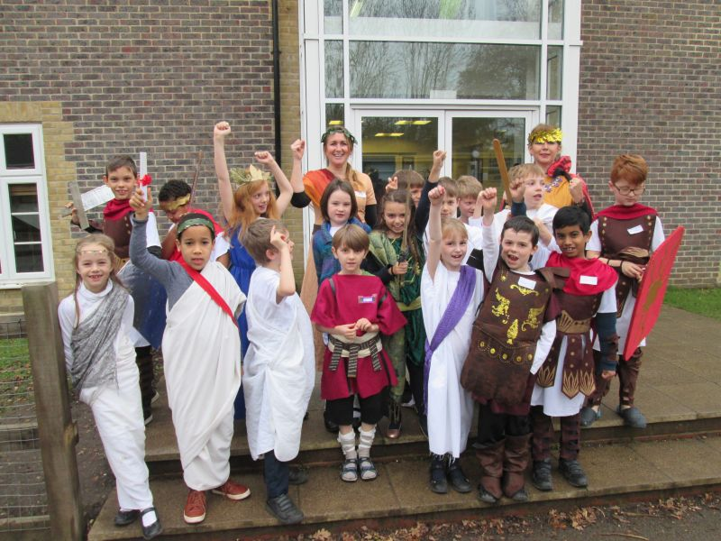 Year 3 and 4 Roman Day