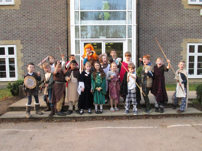 Year 3 and 4 Celtic Day