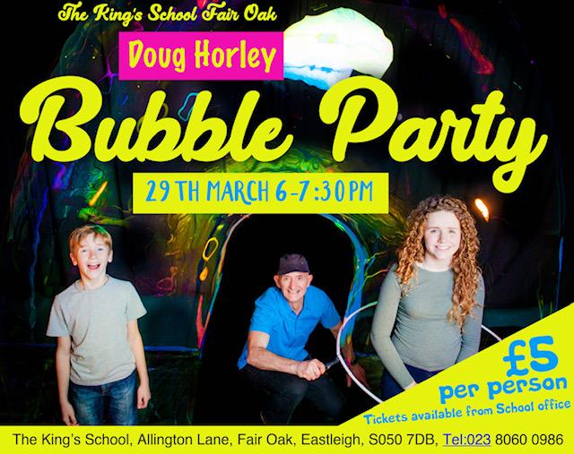 Dough Horley Bubble Praise Party March 2019
